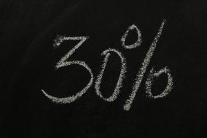 30%Pixabay